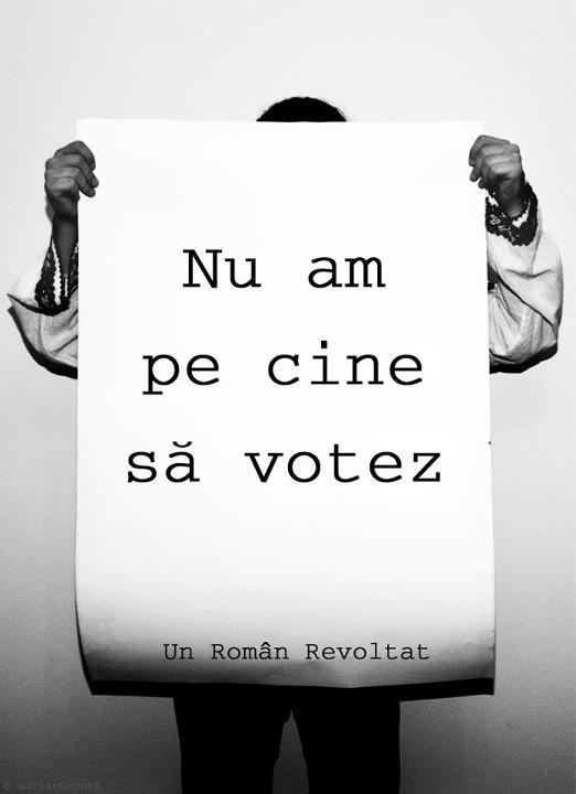 nu vota