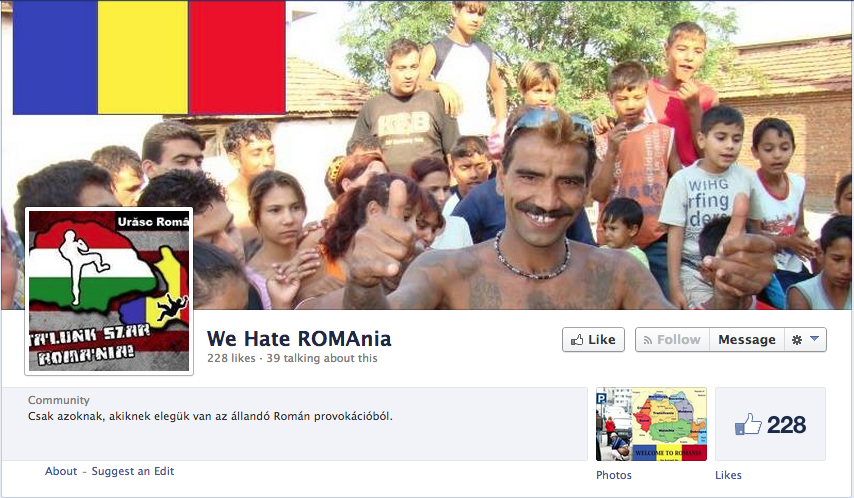 we hate romania