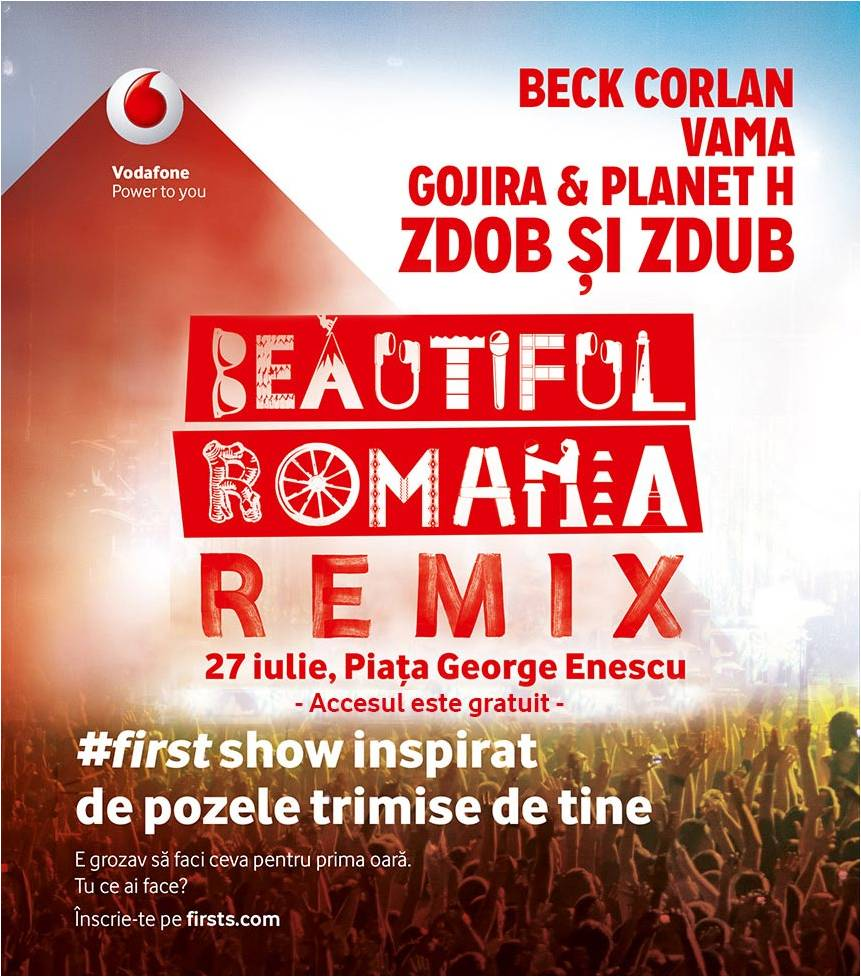 poster beautiful romania remix