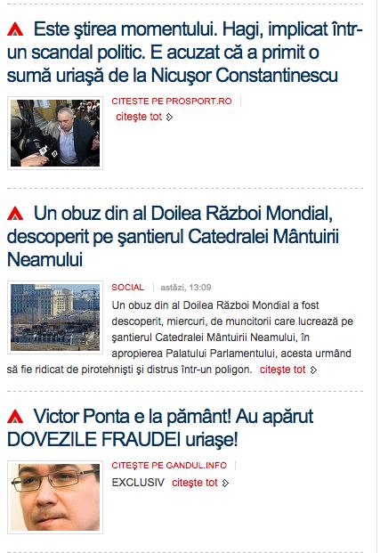 mediafax mizerii