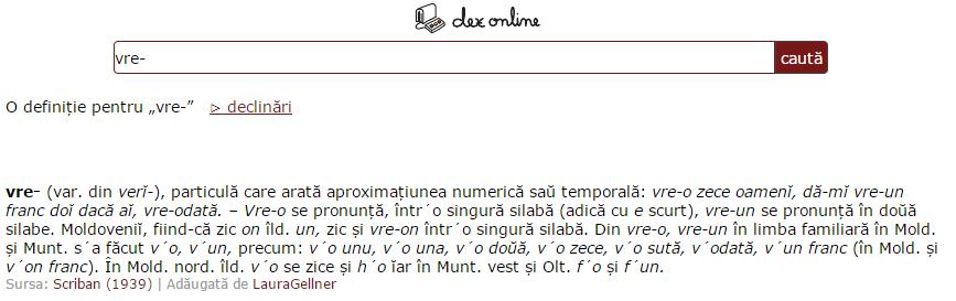 dex online