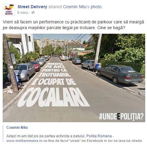 street delivery vandalism