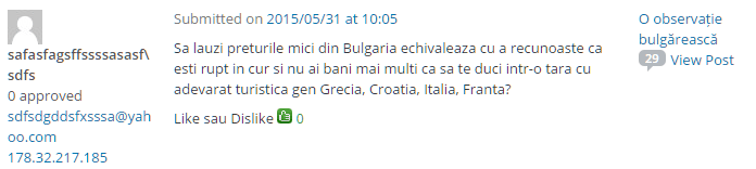 preturi mici bulgaria