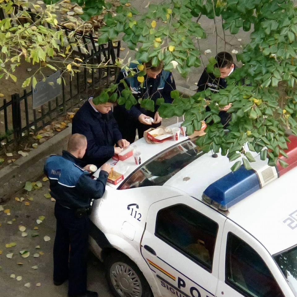 politisti in actiune