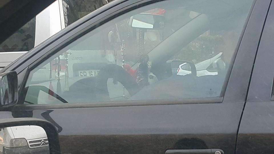 idioti in trafic
