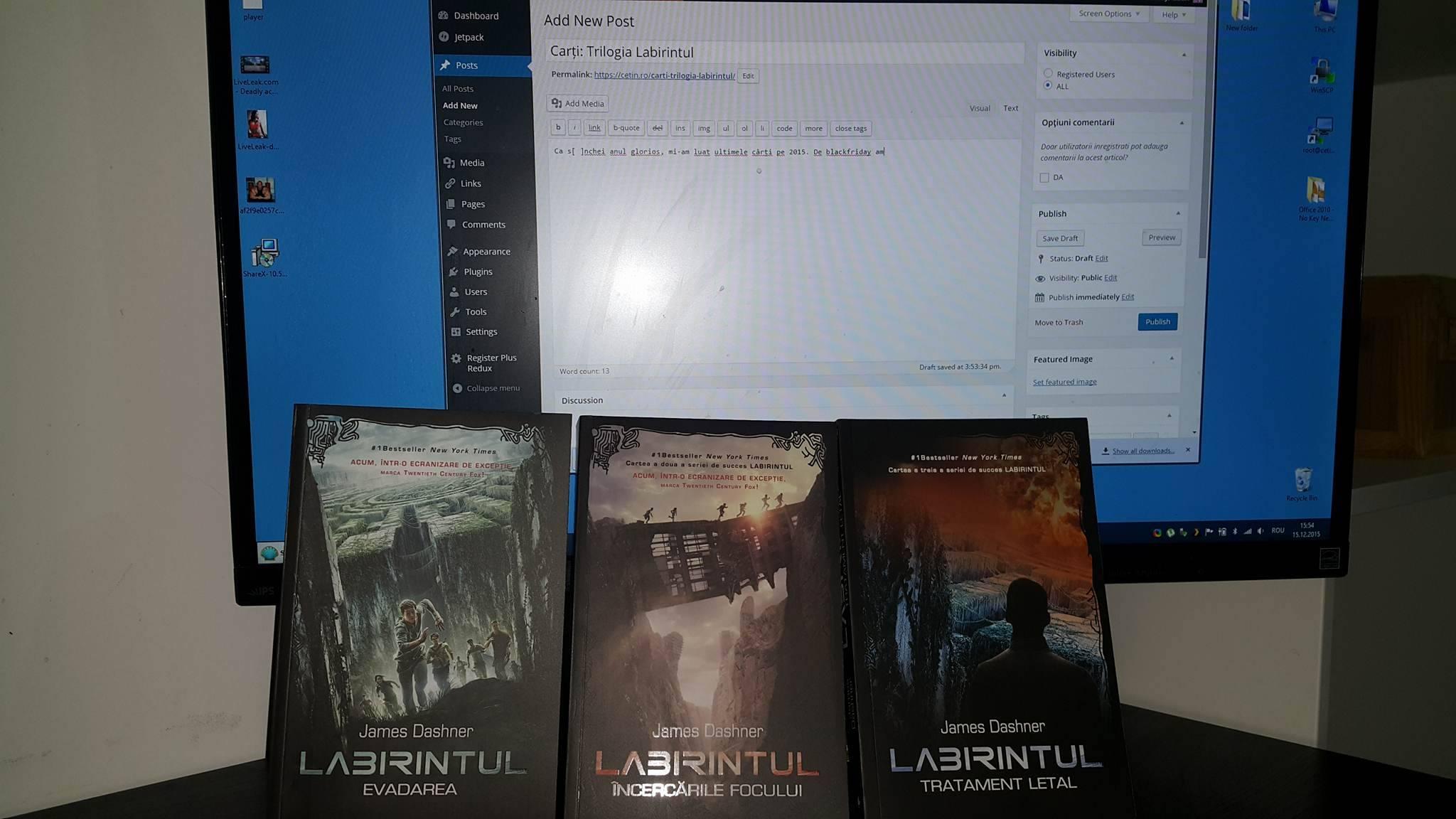 trilogia labirintul