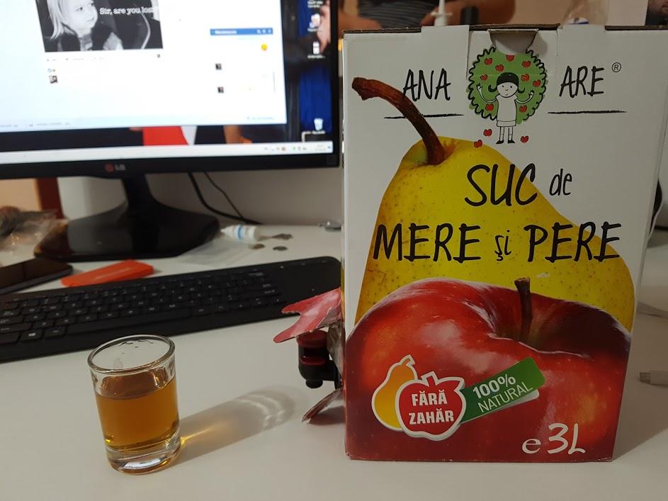 ana are suc de mere