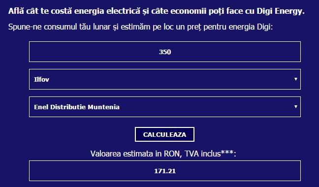 digi energy costuri si taxa tc