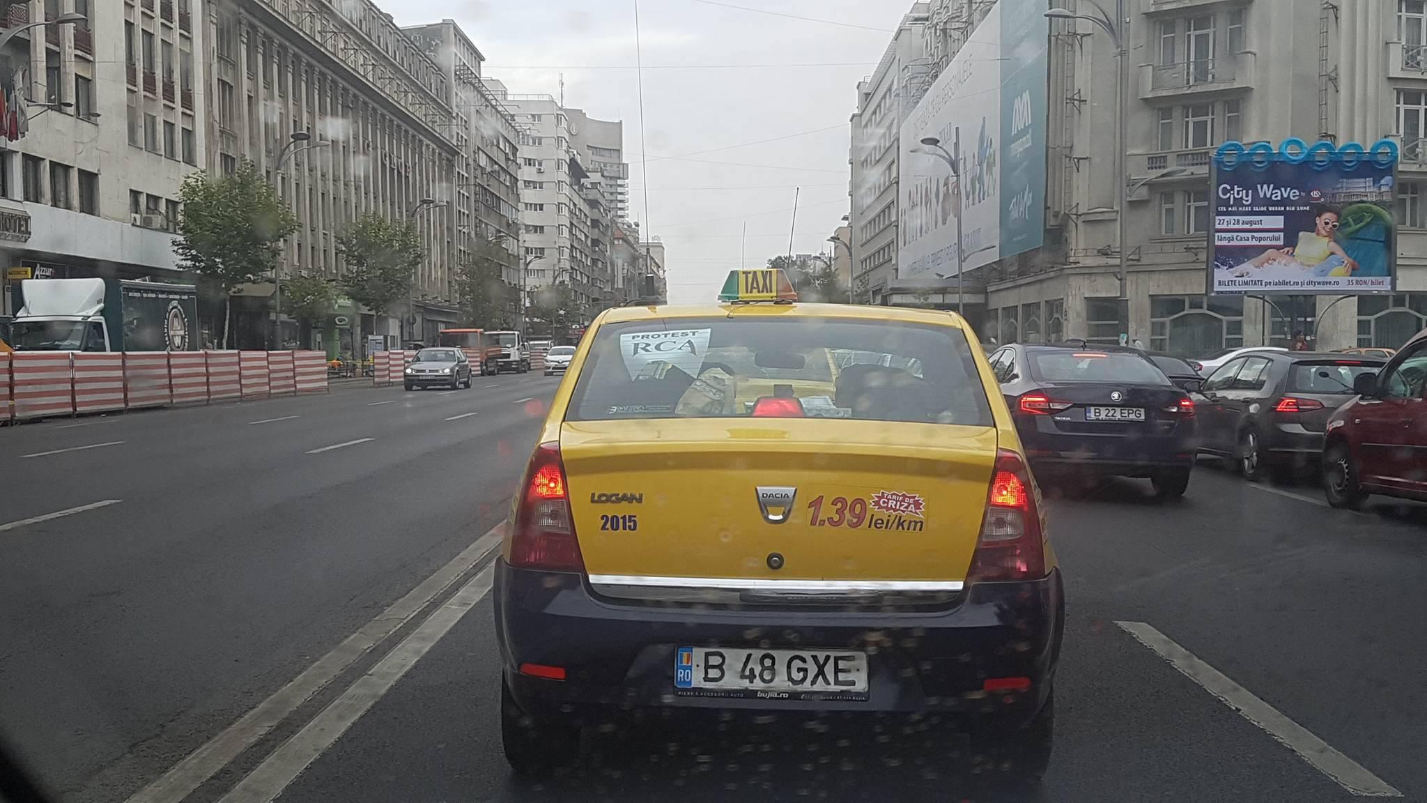 protextul taximetristilor